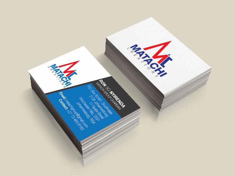 matachi business-card-mockup