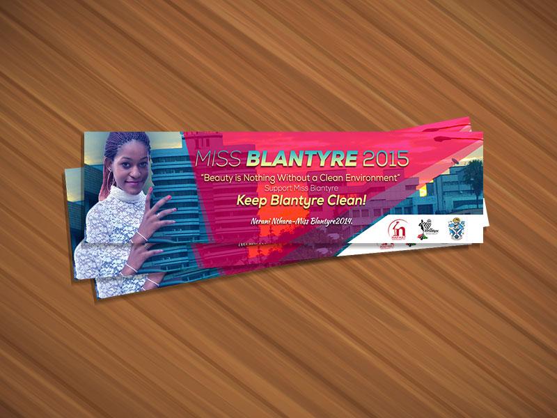 Miss Blantyre promo 2015